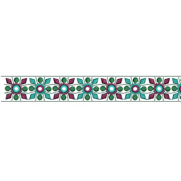 Fancy Border Embroidery Designs 3