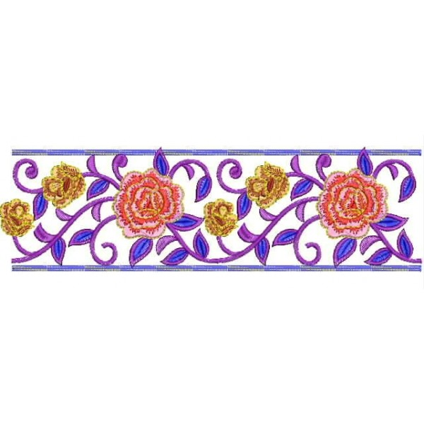 Border Embroidery Designs 76