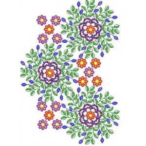 Small Designs flower machine embroidery design