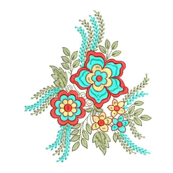New creative flower embroidery designs