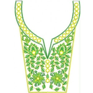 neckline Designs for Dress Embroidery 3