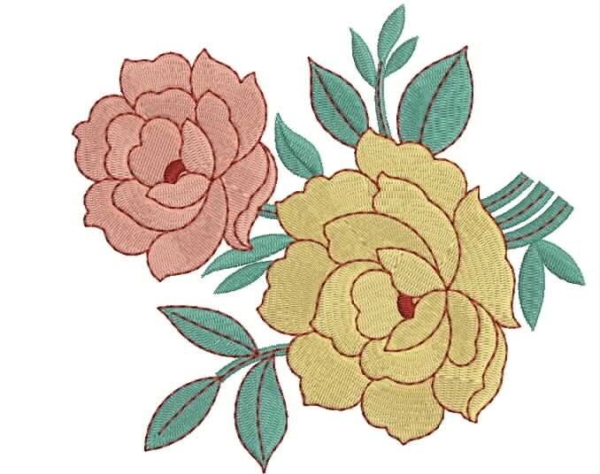 Applique embroidery designs for bed sheets www imgarcade com - Embroidery Patterns Rose Www Imgarcade Com Online