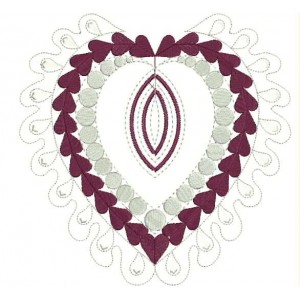 Heart Embroidery Designs 11