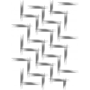 Clipart zigzag abstract embroidery 9