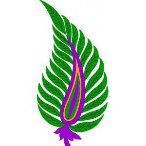 Clipart leaf Embroideryshristi 11