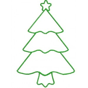 Christmas tree Applique Designs