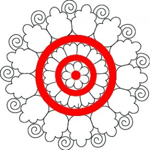 Beutiful Circle Embroidery Designs clipart 36