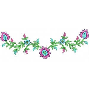 small neckline embroidery designs 41 - Small Designs