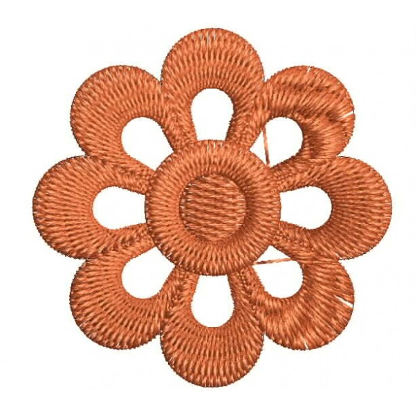 Small orange flower embroidery designs embroideryshristi