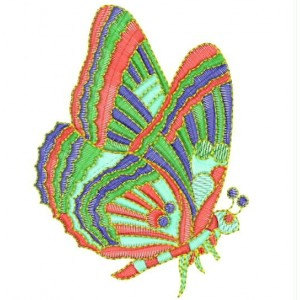 Butterfly Embroidery Designs 2408