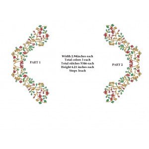 Split Big Floral Frame Designs