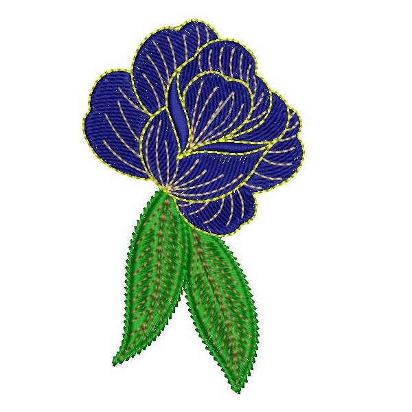 Blue rose embroidery designs embroideryshristi