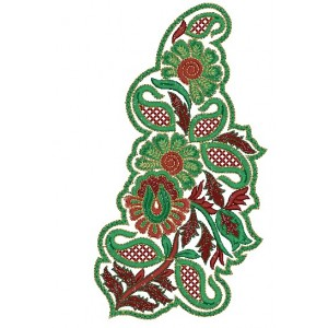 Patch Embroidery Design 8