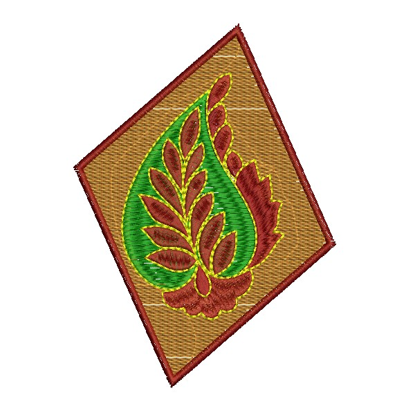 Patch embroidery design embroideryshristi