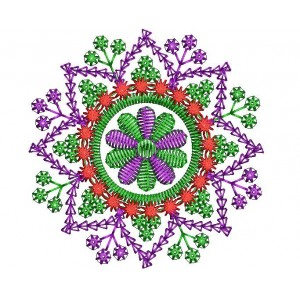 4x4 Motif Floral Embroidery Designs 07