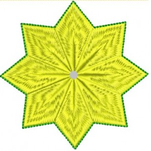 4x4 Star Embroidery Designs
