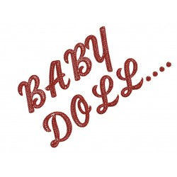 Baby Doll Embroidery Design