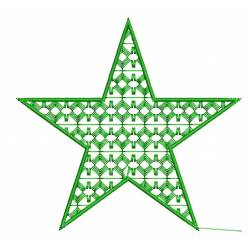 Star Doddle Embroidery Design
