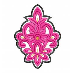 New Pink Butta Embroidery Design