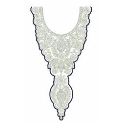 New Neckline Embroidery Design 3