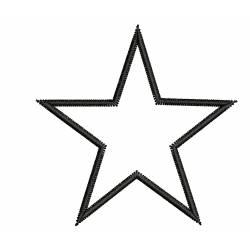 Mini 2x2 Star Embroidery Design