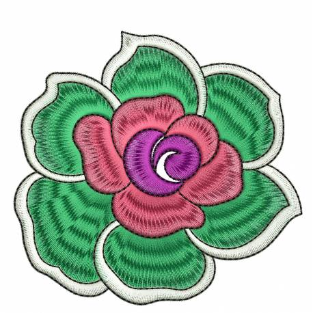 Beautiful Flower Embrodiery Design