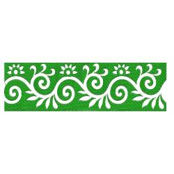 Green Embroidery Designs 1