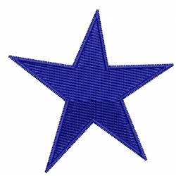 2x2 Star Machine Embroidery Design