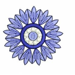 Floral Machine Embroidery Design