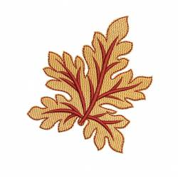 Maple Leaf Embroidery Design